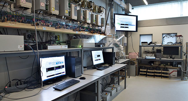 Power Electronics Power Distribution Laboratory