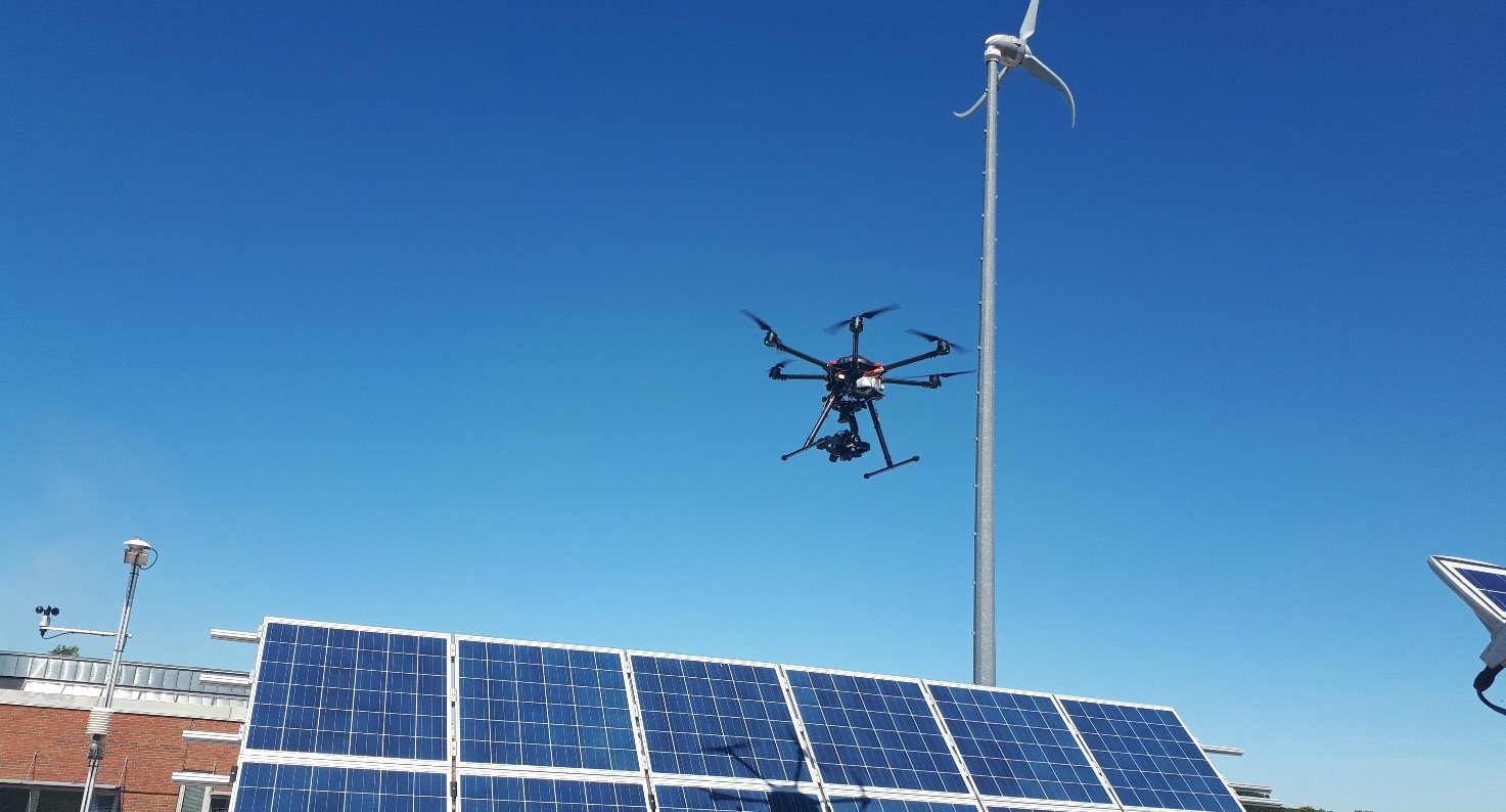 Drone inspection of PV-Plants
