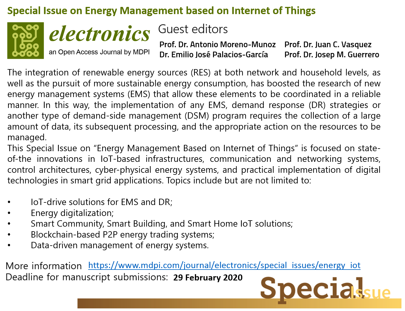 The Energy Internet – Integrating Internet of Things into the Smart Grid