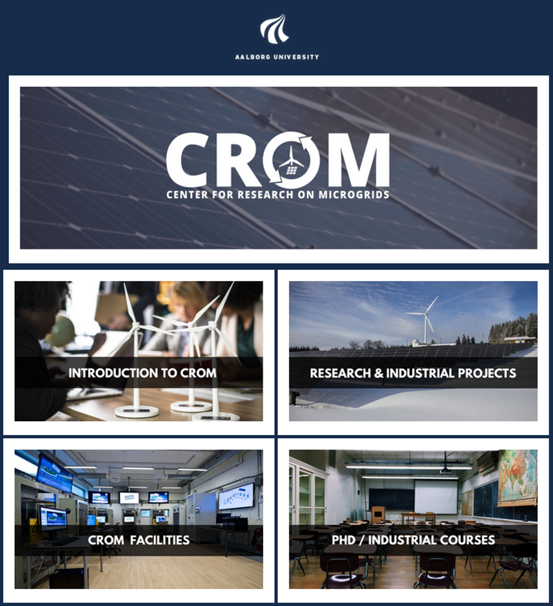 Check our new CROM Website !